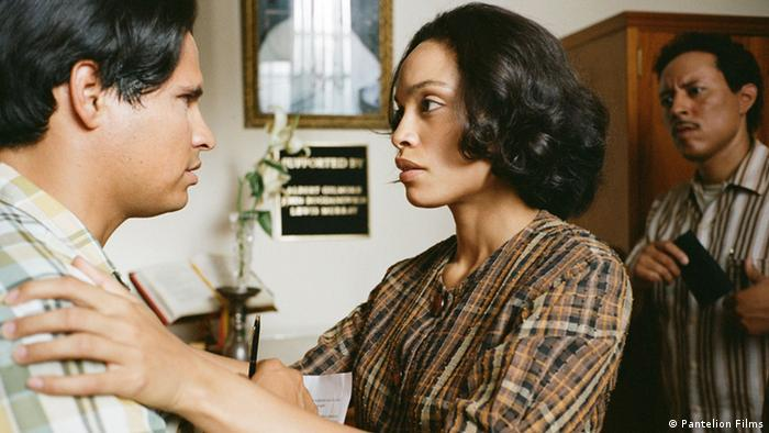 A scene from the film 'Cesar Chavez'