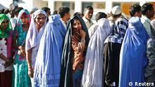 Muslimische Wählerinnen in Indien 10.04.2014