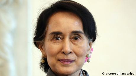 Aung San Suu Kyi bei Gauck 10.04.2014 in Berlin