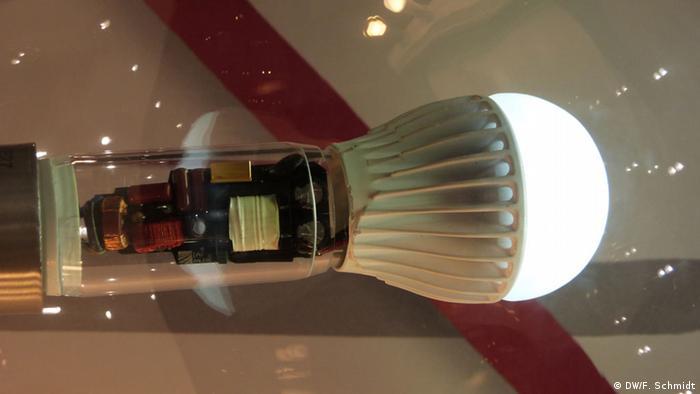 Fraunhofer IAF LED-Lampe