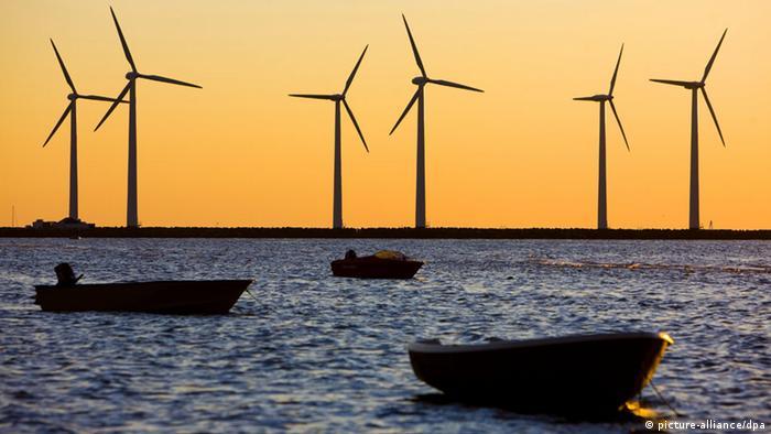 Windräder in Dänemark