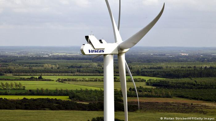 Wind turbine in Denmark