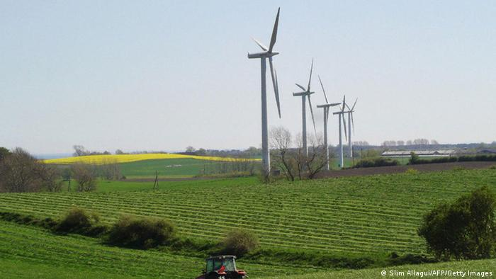 Wind turbines in Denmark (Photo: Slim ALLAGUI/AFP/Getty Images)
