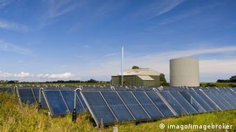 Solar panels in Denmark