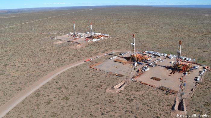 Argentinien Erdöl (Vaca Muerta)
