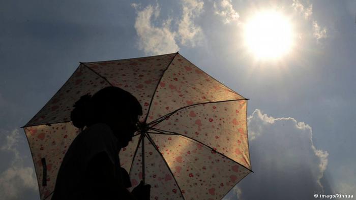 Symbolbild Hitze Temperaturanstieg Klimawandel