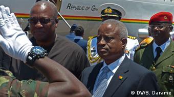 Präsidenten von Ghana und Guinea-Bissau