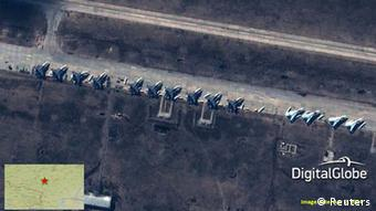 Russian troops on the Ukraine border.