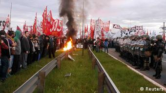 Strike in Argentina
