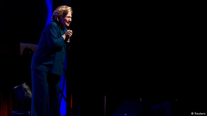 USA Hillary Clinton in Las Vegas Schuhattacke (Reuters)