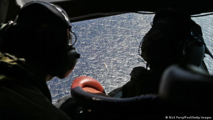 Blick aus dem Cockpit (Foto: Reuters/Australian Defence Force)