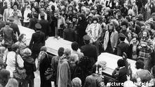 Ensslin, Baader und Raspe beigesetzt