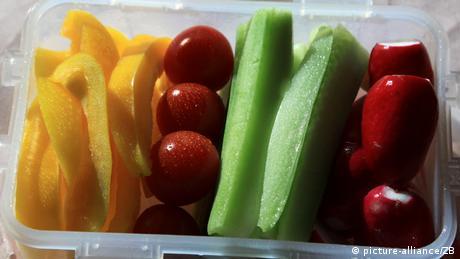 Gemüse als Pausen-Snack