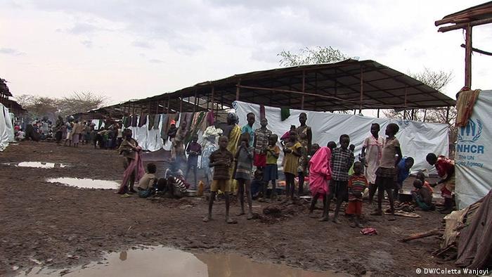 Sudanesische Flüchtlinge in Äthopien Kule Flüchtlingslager