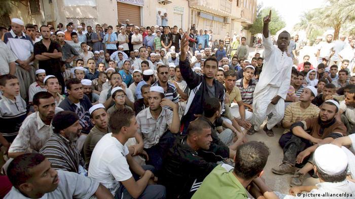Protest nach Überschwemmungen im südlichen Algerien