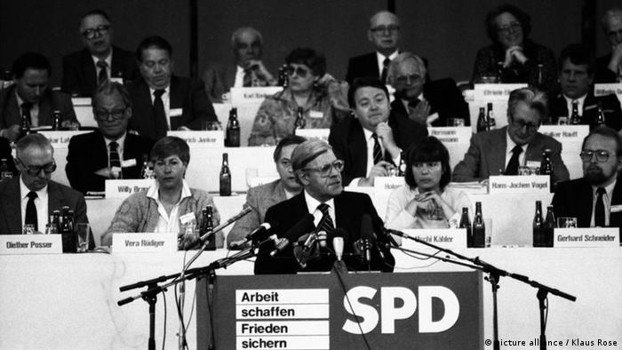 SPD-Parteitag 1982 (Foto: picture alliance / Klaus Rose)