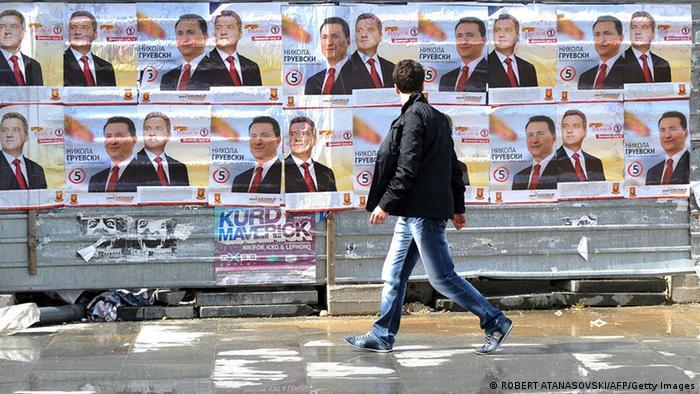 Macedonia election