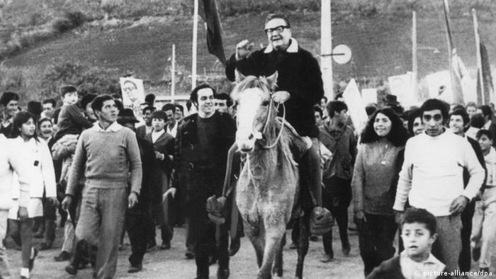 Foto de Salvador Allende en una imagen de archivo