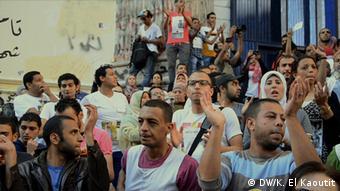 Ägypten Demonstration 12.4.2014