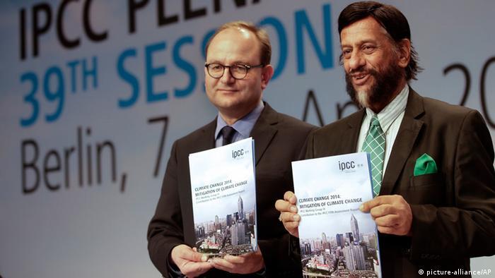 Оттмар Эденхофер и Раджендра Пачаури представляют отчет IPCC