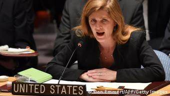 Samantha Power (Photo credit should read DON EMMERT/AFP/Getty Images)