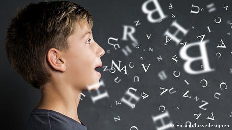 Symbolbild sprechen Sprache