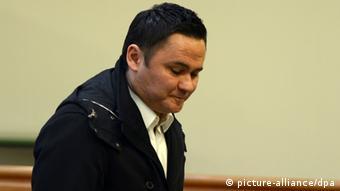 Ante Sapina bei einer Verhandlung im Bochumer Landgericht Ende des Jahres 2013.
