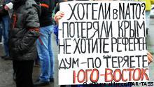 Ostukraine Krise Demos 13.04.2014 Charkiw