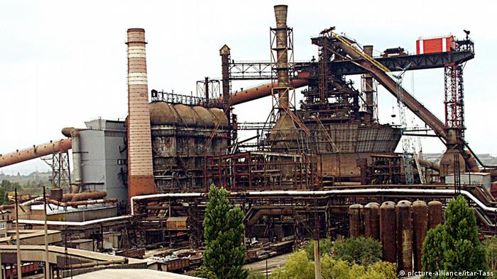 Industrieanlage in Kriwoi Rog
