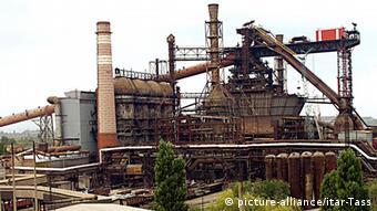 Industrieanlage in Kriwoi Rog