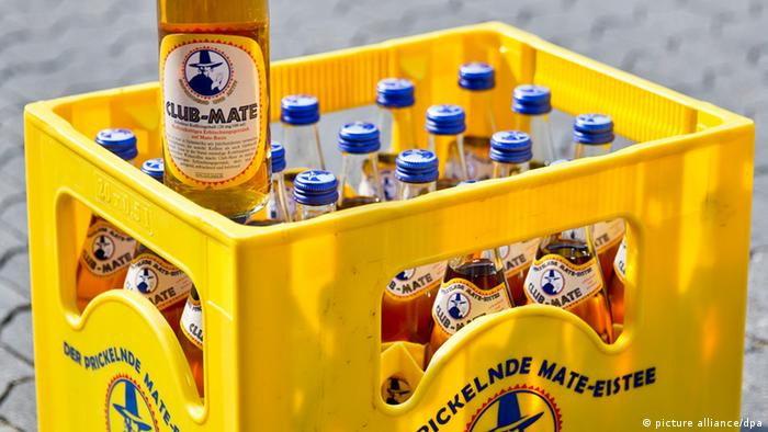 A case of Club Mate