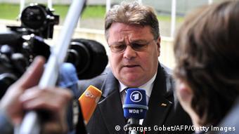 Luxemburg Treffen der Außenminister April 2014 Litauen Linkevicius