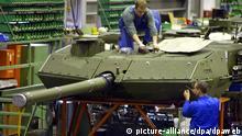 Montage Kampfpanzer Leopard
