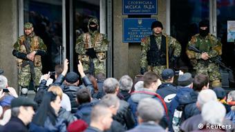 Ostukraine Krise 14.04.2014 Slowjansk