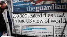The Guardian und Washington Post bekommen Pulitzer-Preis