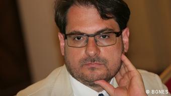 Politologe, Daniel Smilov Bulgarien (BGNES)
