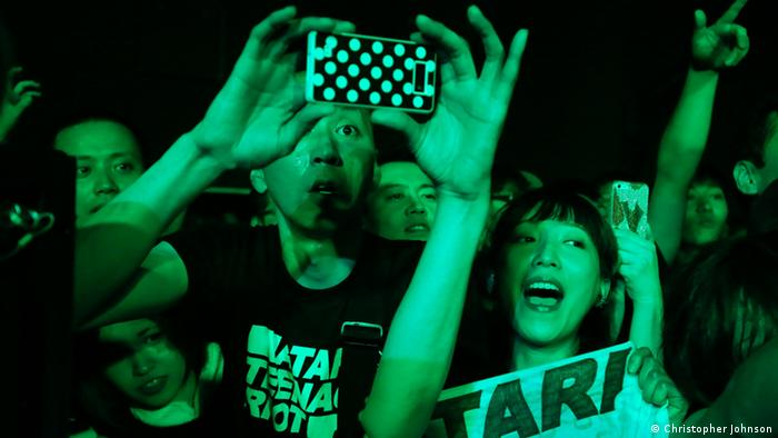 Atari Teenage Riot in Tokyo, Japan