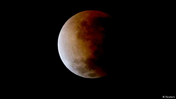 Mond Mondfinsternis roter Mond (Reuters)
