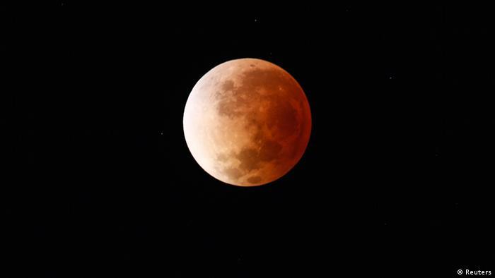 Mond Eclipse 2014 Buenos Aires