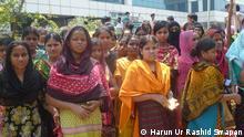 Frauen Textilarbeiterinnen Näherinnen Bangaldesch Gewandnäherinnen