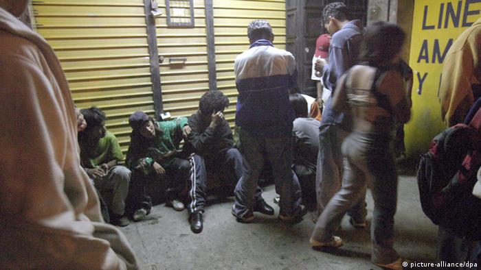 Guatemala Straßenkinder Symbolbild Kinderhandel
