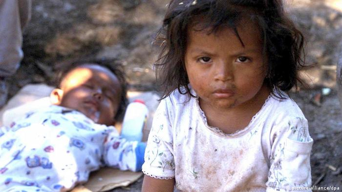 Street children in Guatemala