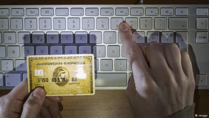 Symbolbild Kreditkartenbetrug Cyberkriminalität