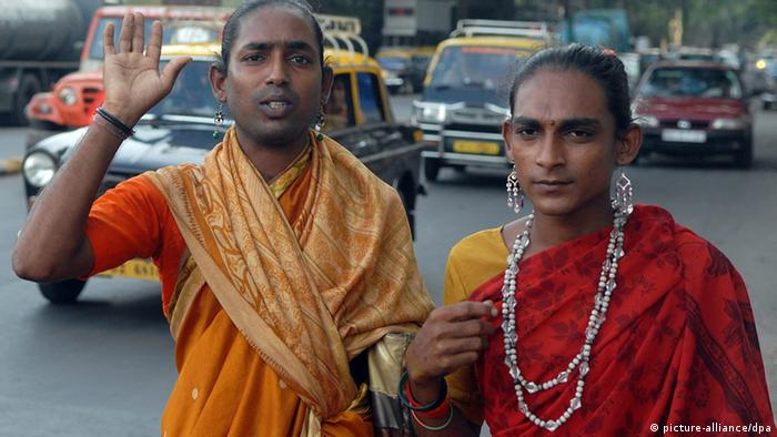 Mumbai Indien Eunuchen (picture-alliance/dpa)