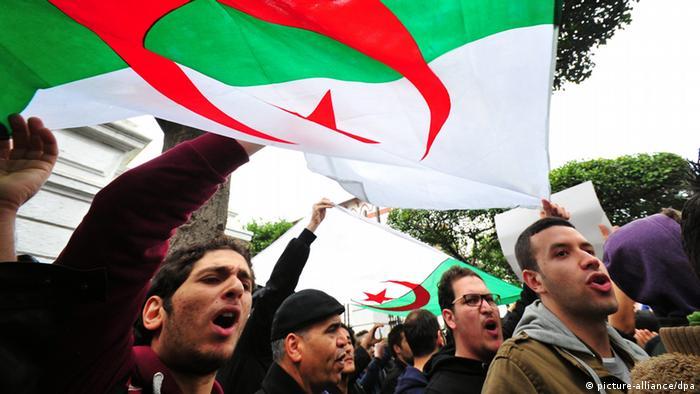Algerien Proteste Bouteflika