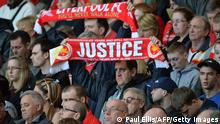 Liverpool Anfield Gedenken der Opfer Hillsborough (Paul Ellis/AFP/Getty Images)