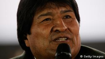 Evo Morales Präsident Bolivien