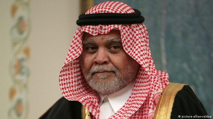 Saudischer Geheimdienstchef Prinz Bandar bin Sultan