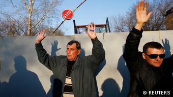 Ukraine Krise 15.4.2014