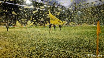 Fußball DFB-Pokal Halbfinale Borussia Dortmund - VfL Wolfsburg